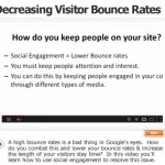 Ways To Decrease Visitor Bounce Rates And Increase Social Engagement