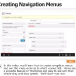 Create Navigation Menus And Sort Them